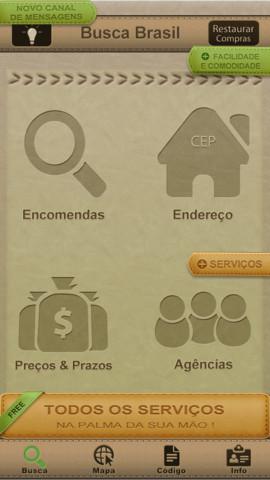app busca brasil correios